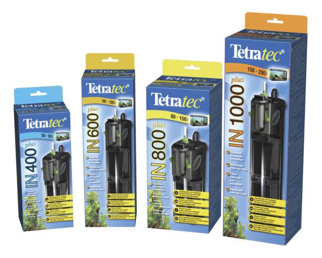 Tetratec In Plus 400 600 800 1000 Internal Aquarium Fish Tank Filter Tropical