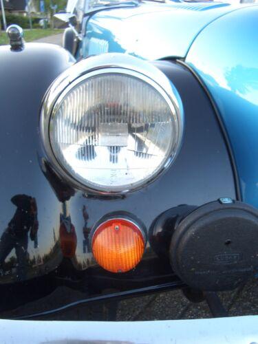 """2x Morgan Plus 8 Scheinwerfer H4 mit /""""E/"""" Pruefzeichen 4//4 Roadster V6 Lampen"""