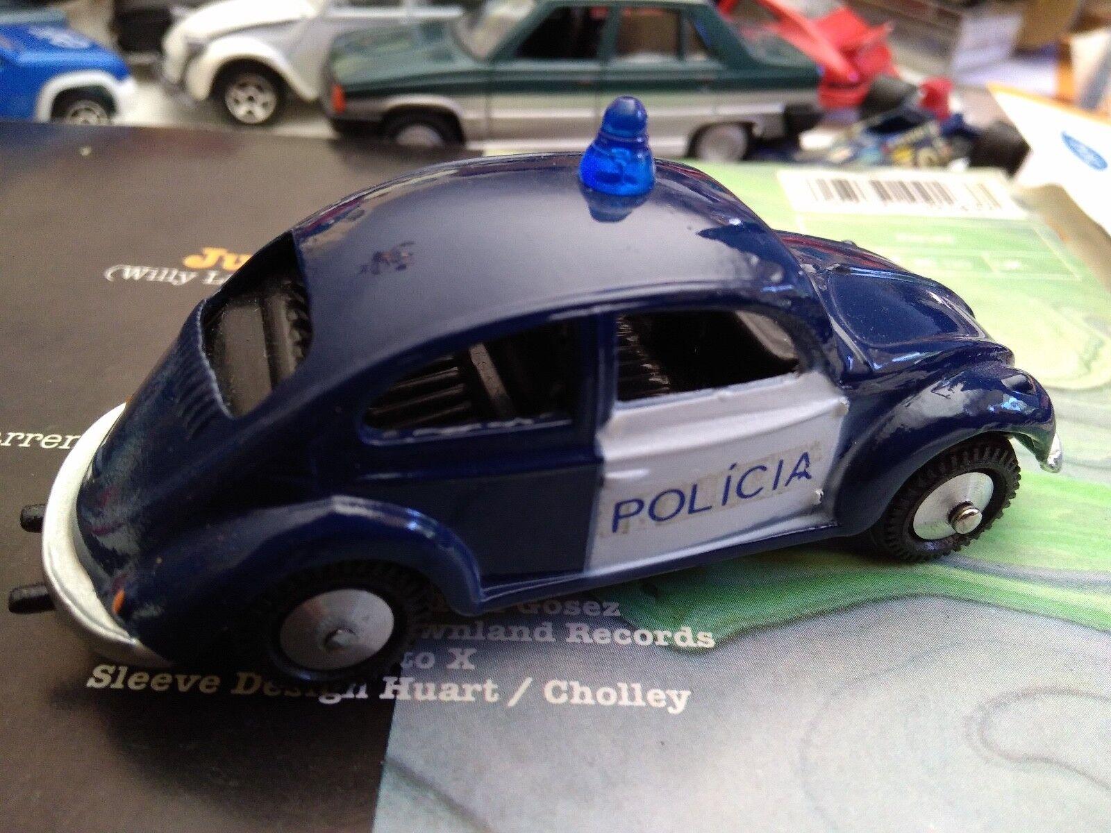 METOSUL  1 43 VOLKSWAGEN BEETLE POLICIA SUPERBE