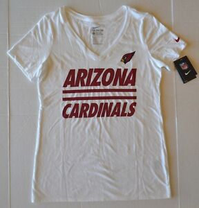 Details about Women s The Nike Tee Athletic Cut Arizona Cardinals Football  NFL V-Neck Shirt 208793bdb