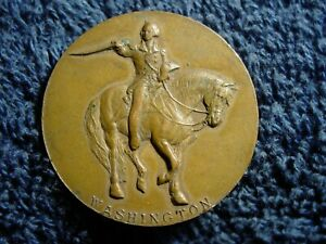 1932-Appleton-WI-MEDAL-Token-Diamond-Jubilee-G-Washington-Bicentennial-Souvenir