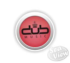 Volkswagen Dub Music Car Van Sticker Decal Funny Stickers JDM Euro VW