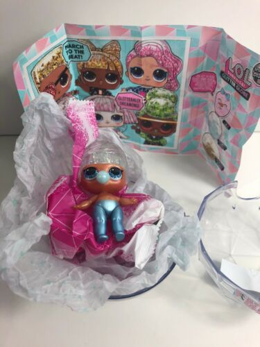 New LOL Surprise Miss Snow Winter Disco Glitter Globe Doll New Pageant Blue