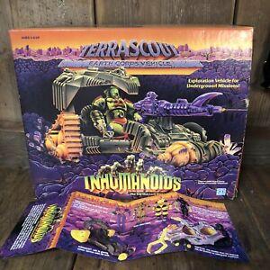 Inhumanoids-Terrascout-nuevo-viejo-Stock-En-Caja-raro-modelo-nunca-montado