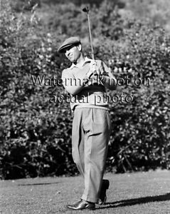 Details About Ben Hogan Classic 1940 S Follow Thru Swing Position Golf Photo
