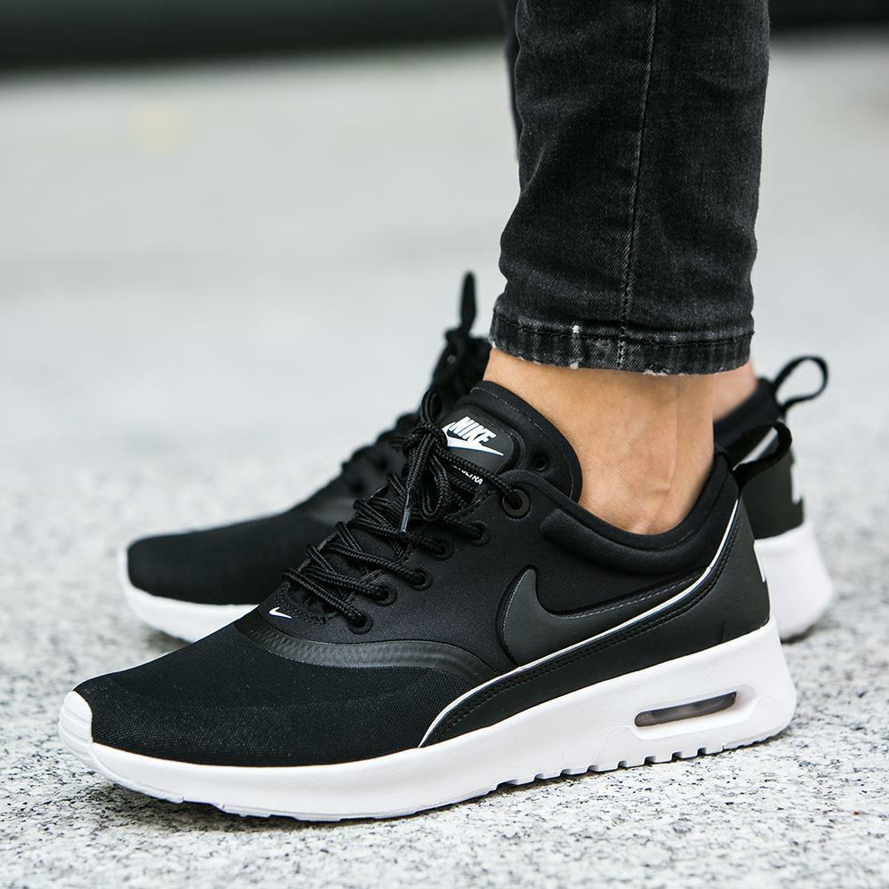 Nike Air Max Thea Ultra Black Black-White 844926-001Wmn SZ 7.5