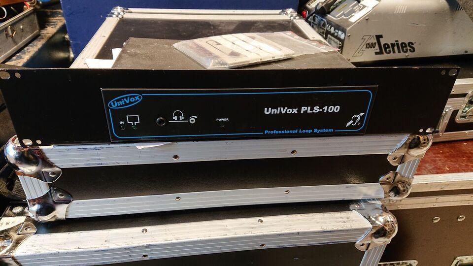 Teleslyngeforstærker, Univox Pls-100
