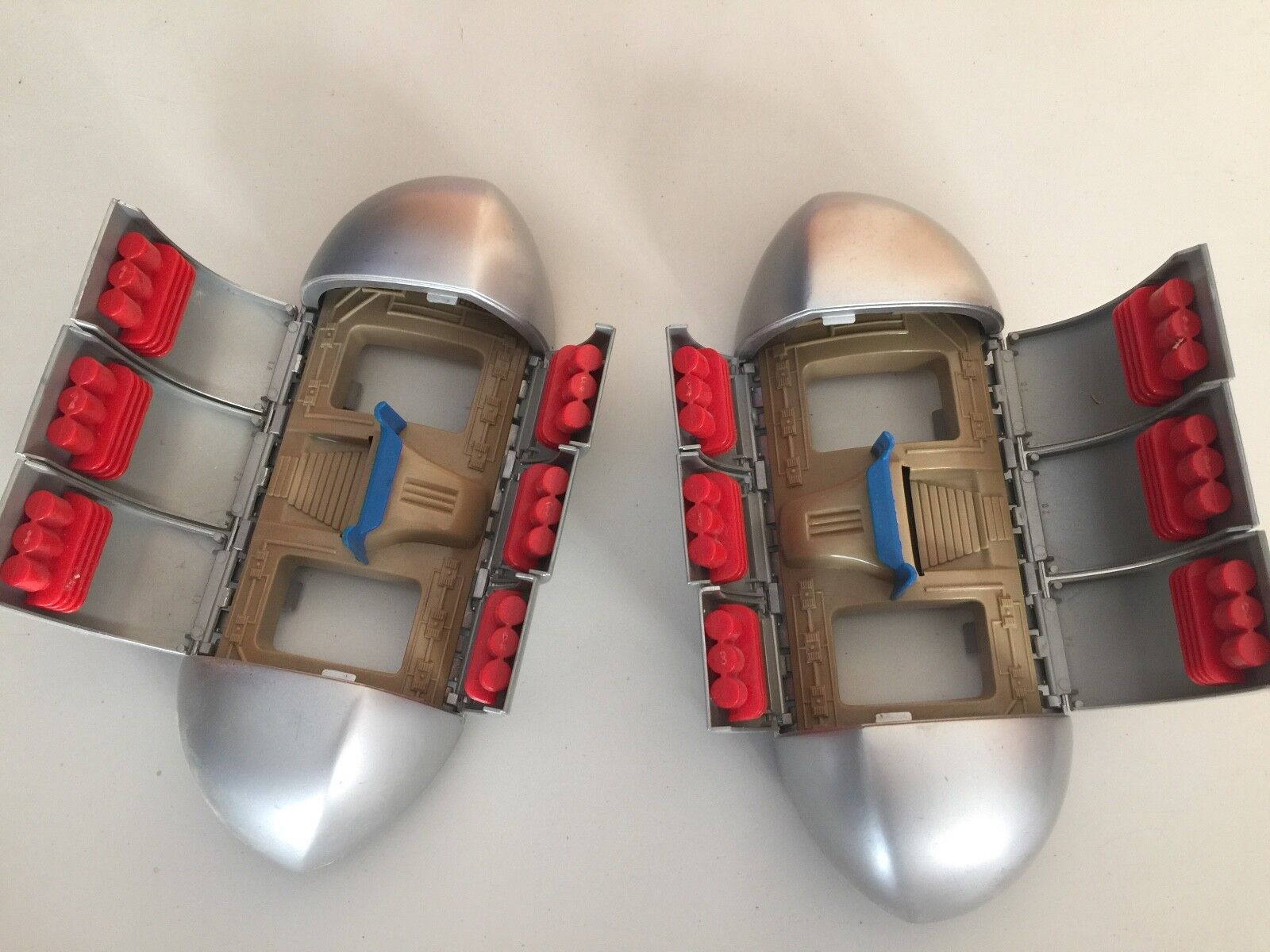 DINO RIDERS Parts 1987 Diplodocus side weapon ARMOUR POD unit set Tyco