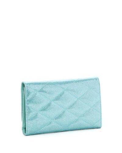 Lux de Ville Route 66 Blue Mermaid Sparkle Rockabilly Clutch Wallet RW562MBS