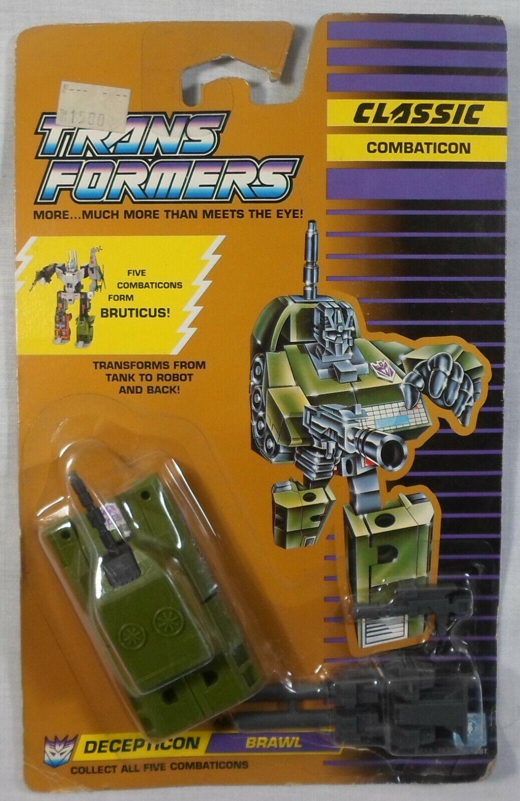 Envío rápido y el mejor servicio Transformers G1 1990 Classics Combaticon Brawl Bruticus Hasbro Hasbro Hasbro reino unido europeo en perfecto estado en Cochetón sellado  orden ahora disfrutar de gran descuento
