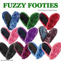 Fuzzy Footies Slippers By Red Carpet Studios - Women / Ladies - Over 30+ Colors