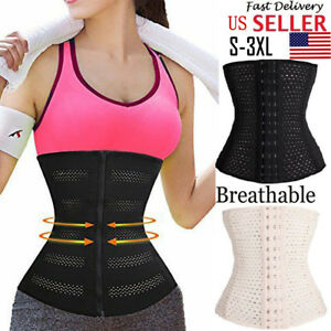 0ca5f371b55d8 Image is loading US-Women-Fajas-Reductoras-Colombianas-Waist-Trainer-Corset-