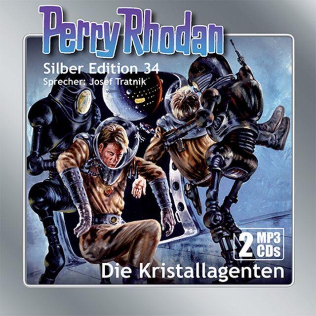 Perry Rhodan Silber Edition 34 Die Kristallagenten (2 mp3-CDs)