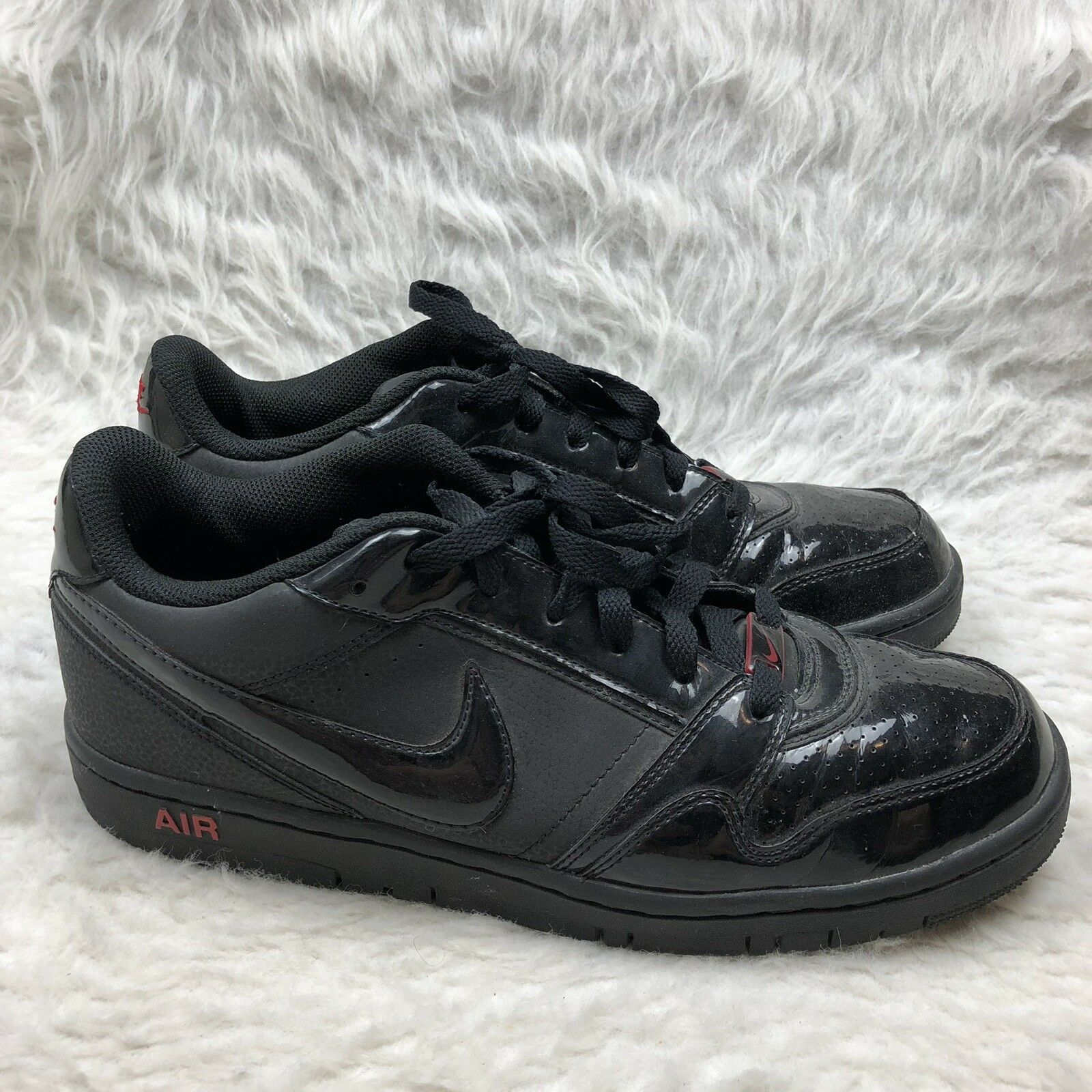 eb3107974d Mens Nike Air Prestige III Size 10.5 Black Red Athletic shoes  nrupqc3663-Athletic Shoes
