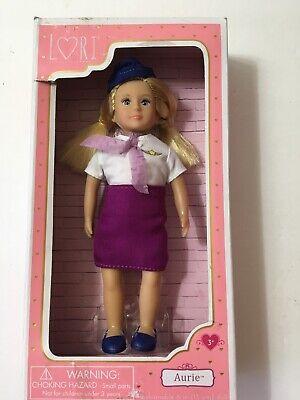 "Lori Our Generation  Aurie 6"" Flight Attendant Doll By Battat New"