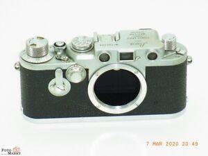 Leica-IIIf-Sucherkamera-Leitz-Wetzlar-M39-Objektiv-Gewinde-Leica-3f-body-chrom