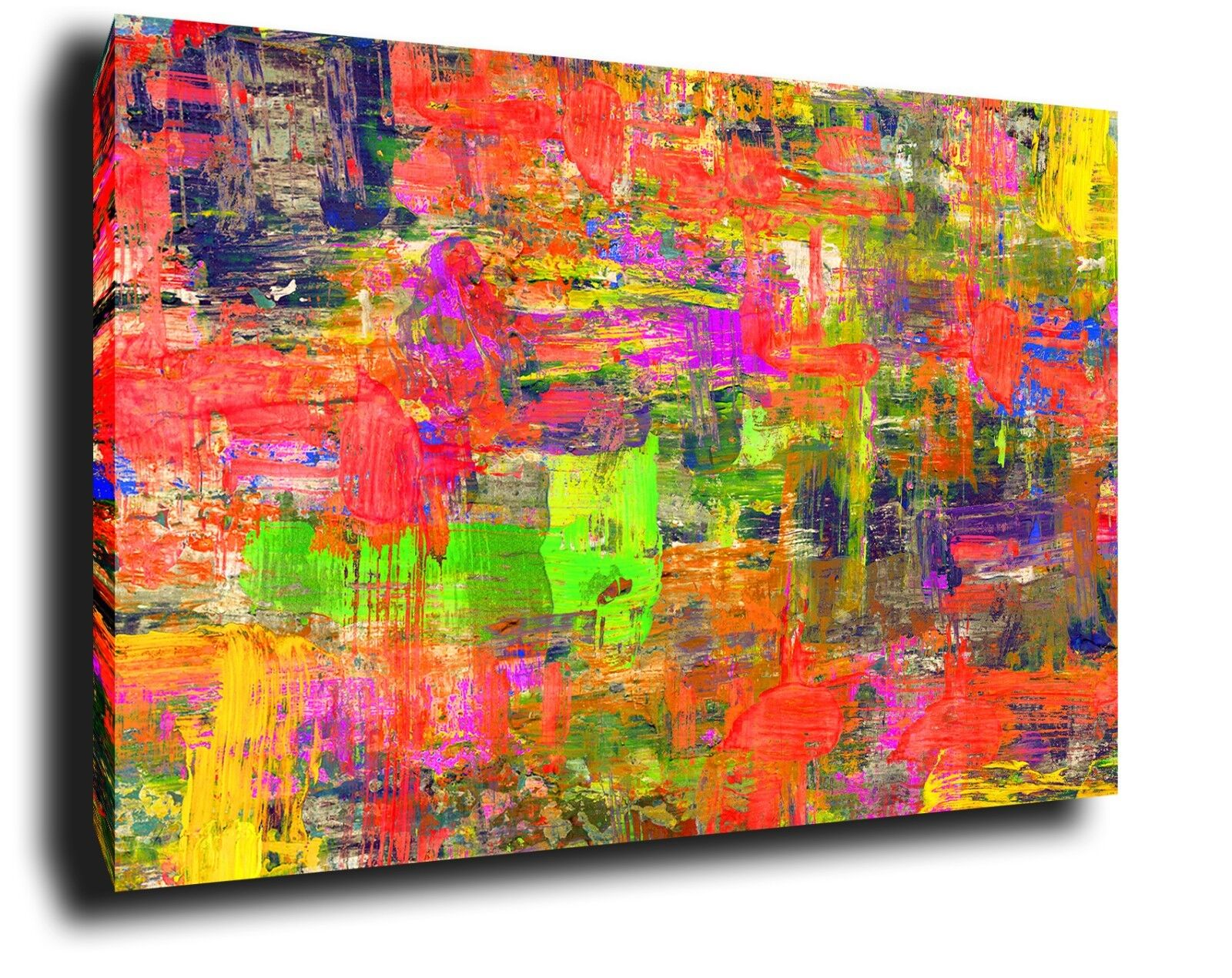 ABSTRACT Canvas Wall Art Picture Large oil painting Print Framed home decor
