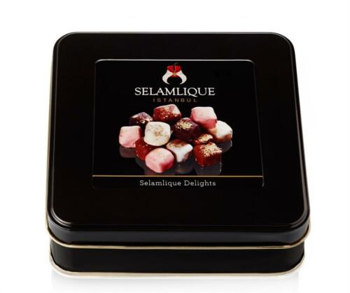 "Turkish Delight /""Selamlique/"" Lokum Rose Mastic Cinnamon Pomegranate Chocolate"