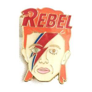 David-Bowie-Ziggy-Stardust-Enamel-Lapel-Pin-Badge-Brooch-Rebel-BNWT-NEW-Gift