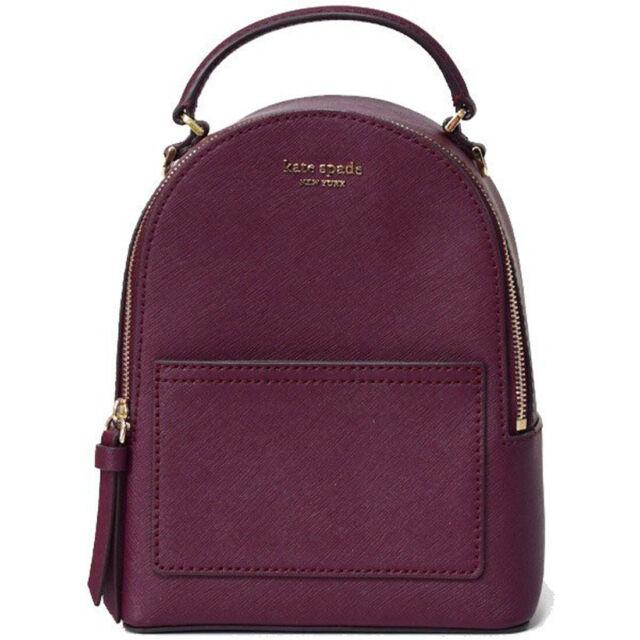 NWT Kate Spade New York Cameron Mini Convertible Backpack Crossbody Cherry 5984