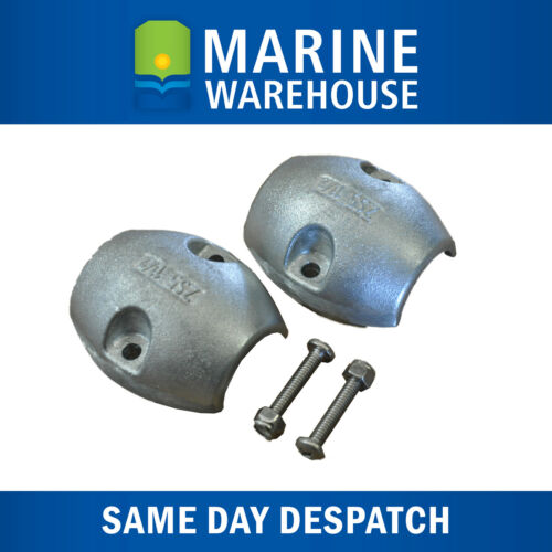 """Small Craft and Marine Anode W// 2 Mounting Bolts ZS1 Shaft Anode  7//8/"""""""
