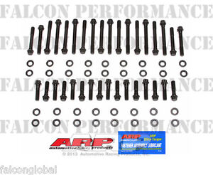 Details about Chevy LT1 LT4 350 383 400 ARP Performance Cylinder Head  Bolt+Washer Kit 12-Point