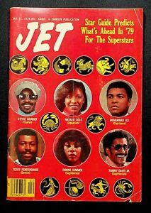 JET Vintage Magazine January 11 1979 Stevie Wonder Donna Summer Muhammad Ali