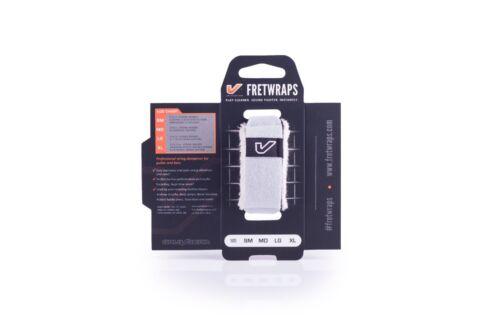 1-Pack White, Medium Gruv Gear FretWraps String Muter