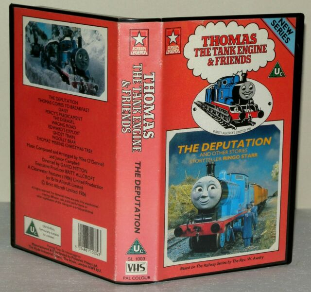 Thomas The Tank Engine - The Deputation - Children's VHS Video Vintage Classic