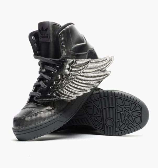 8a65c42b3d9b ADIDAS Jeremy Scott JS Wings Molded Men s HI High-Top Basketball Shoes Mens  9.5