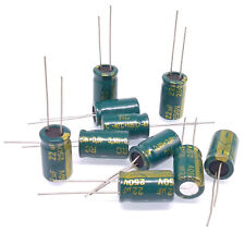 105℃ RoHS NP 22uF 250V φ16x33mm SC 10pc Electrolytic Capacitor NPT Axial 2000hr