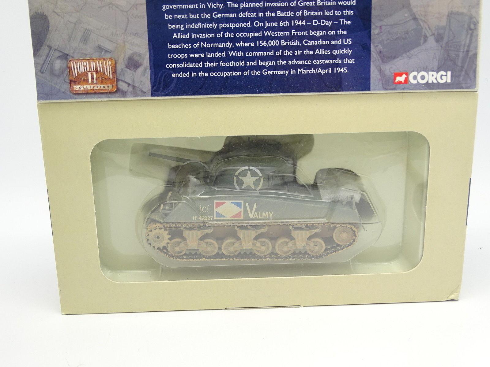 buon prezzo Corgi Militare Esercito 1 50 - Char Tank Sheruomo Sheruomo Sheruomo M4 A2 French Army Marsiglia  scelte con prezzo basso