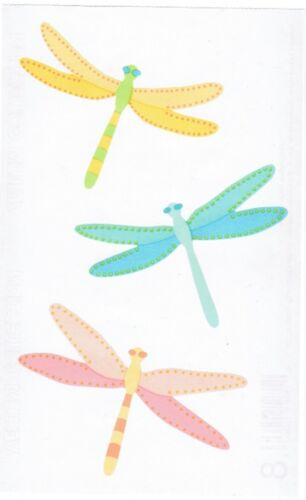 Mrs Grossman/'s Vellum DRAGONFLY Dragonflies BUG Scrapbook Stickers 3 Sheets