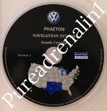 2004 05 06 VW VOLKSWAGEN PHAETON V8 NAVIGATION MAP CD 4 S CENTRAL OK TX AR LA MS