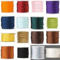 100 Feet Of 1mm Imitation Silk Beading Cordmacrame Cording For Beads & Jewelry