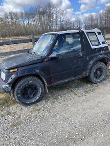1990 Chevrolet Tracker