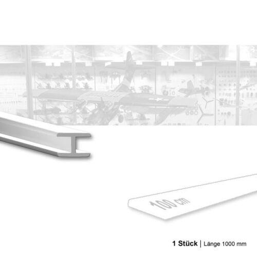 Länge 1000 mm ASA Verbindungsleiste-H Innen 2,0 mm 1 Stück