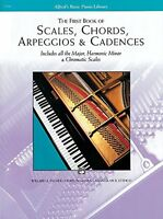 Scales, Chords, Arpeggios And Cadences: First Book (alfred`s Basic Piano Library
