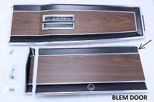 Mopar Console Top Plate Set Auto 69 70 RoadRunner SuperBee GTX BLEMISHED DOOR