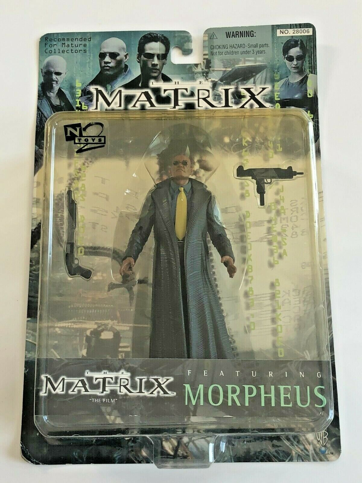 Sentinel Action Figure New 2000 The Matrix Movie Series 2 N2 Toys Amricons