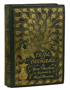 Resultado de imagen de 1894 Hugh Thomson Peacock Edition pride and prejudice
