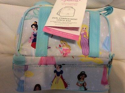Pottery Barn Kids Mackenzie Disney Princess Dual Compartment Lunch Bag NWT!