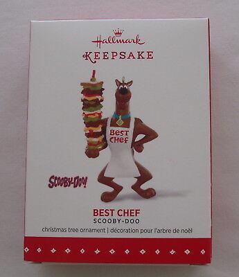 Hallmark 2015 Scooby Doo Best Chef Sandwich Christmas Keepsake Ornament