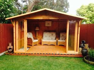 X THE CHESTER SUMMER HOUSE TONGUE AND GROOVE QUALITY TIMBER - Summer house
