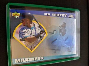 1993 Upper Deck Diamond Gallery #13 Ken Griffey Jr. Foil Seattle Mariners