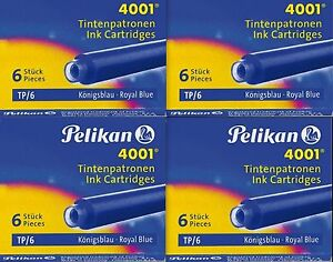 Pelikan-Tintenpatrone-4001-TP-6-6-Patronen-SONDERPREIS-Originalware-NEU