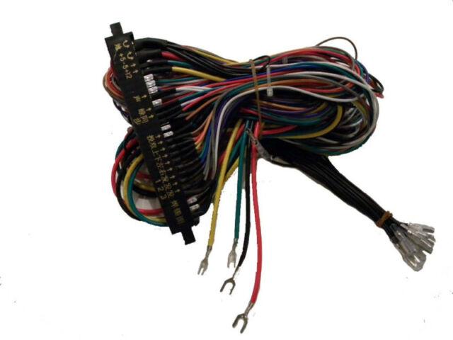 s l640 jamma wiring harness arcade game multicade etc ebay