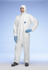 Tyvek CHF5 Classic Xpert Type 5 & 6 Coverall Spray Suit - Size XL