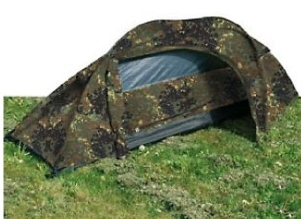 One-Man Tent One Person Army Recon Tent Outdoor Tent German Flecktarn