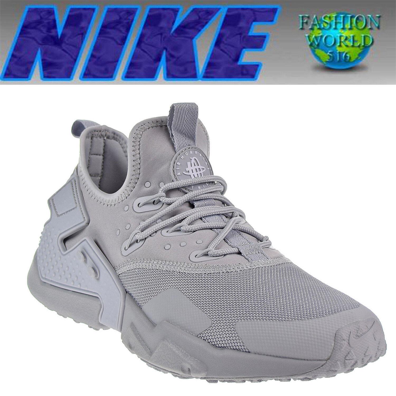 Nike Men's Size 10 Air Huarache Drift Running Shoes Wolf Grey/White AH7334-004